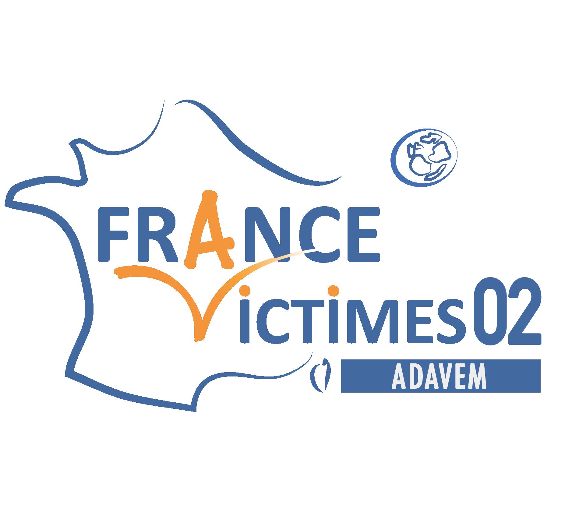 Logo FRANCE VICTIMES 02